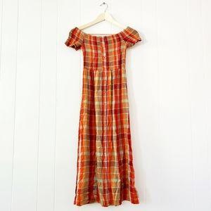 UO maxi market dress